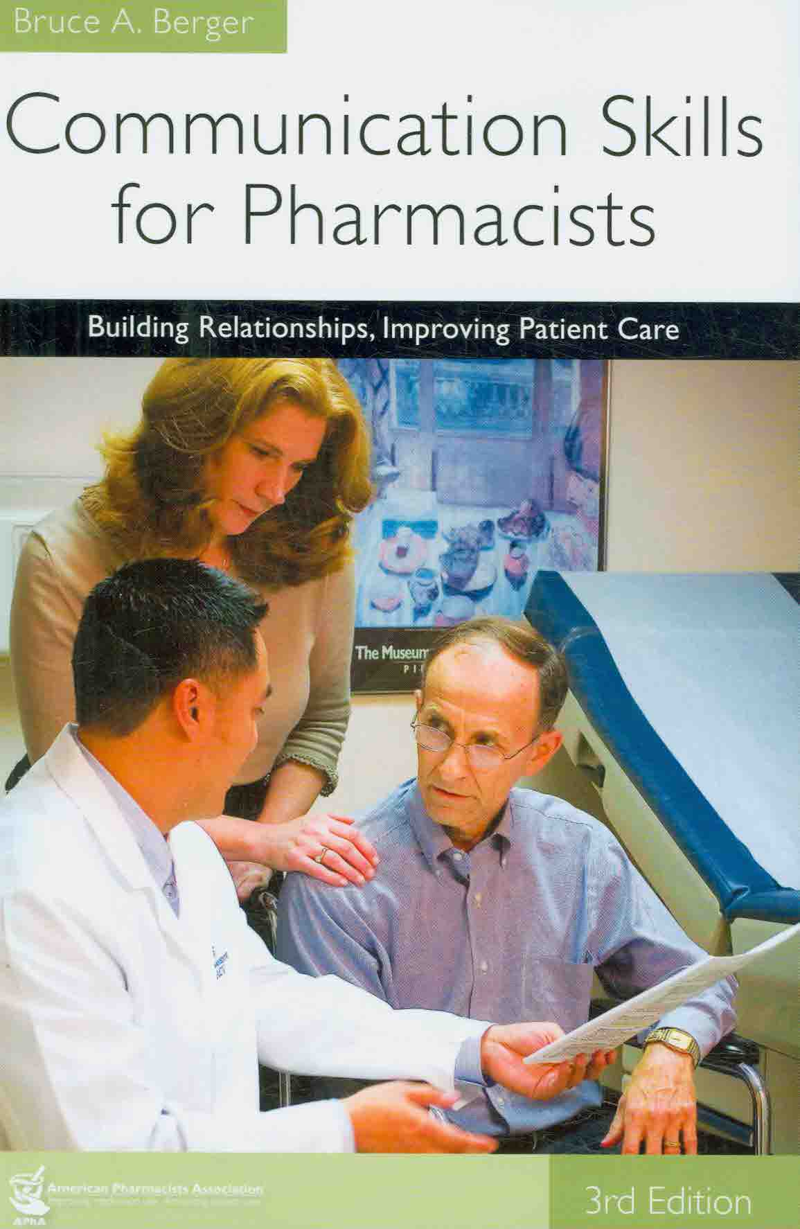 Communication Skills for Pharmacists By Berger, Bruce A.